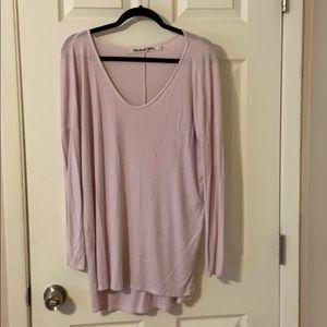 Michael Stars long line tunic sweater